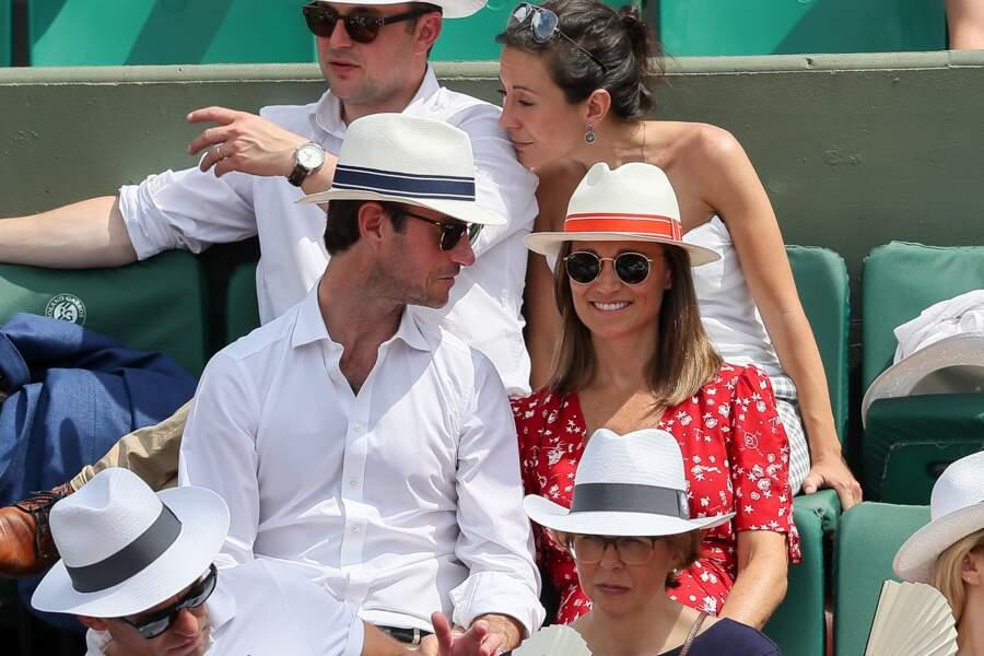 Pippa Middleton et son mari plus amoureux que jamais