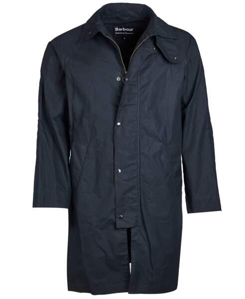 Veste mi-longue, 690 €, Barbour x Engineered Garments