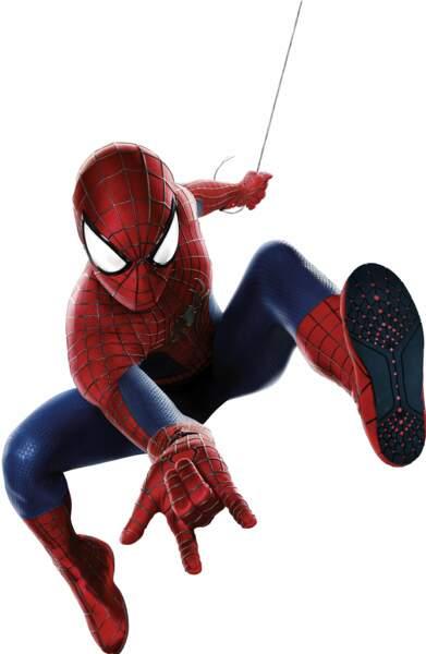 Spider-Man ou le plus célèbre des super-héros jamais créés par Stan Lee.