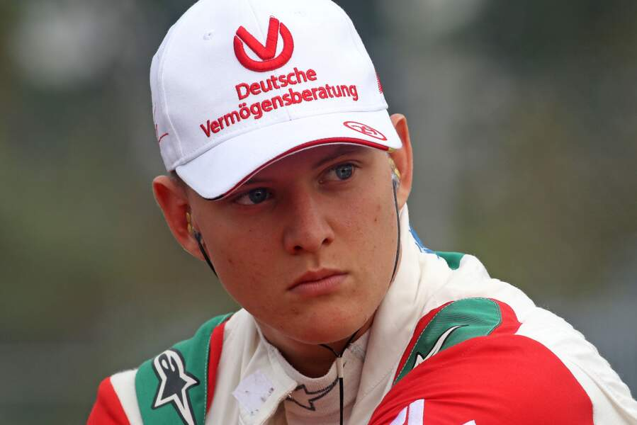 Mick Schumacher enchaîne les podiums depuis le début de l'année