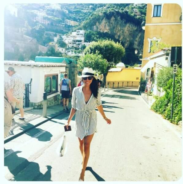 Meghan Markle en vacances en Italie,  été 2016