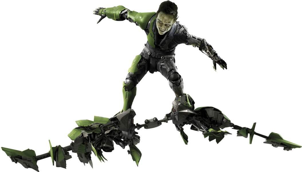 Le Bouffon vert est l'un des super-méchants les plus célèbres de la saga. Il donne du fil à retordre à Spider-Man.