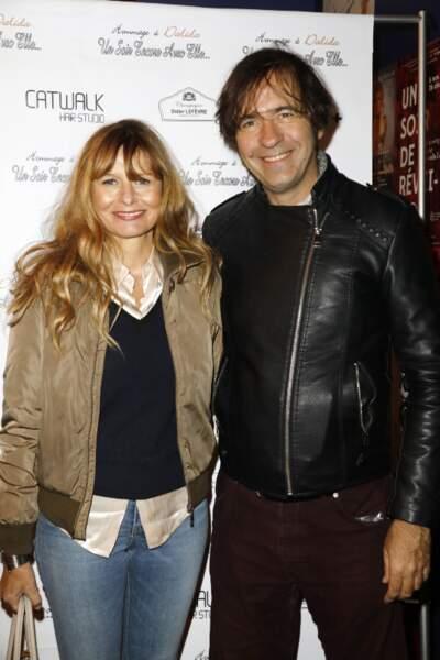 Les deux acteurs, Thierry Samitier et Marina Pastor, assistaient à l'avant première du spectacle hommage à Dalida