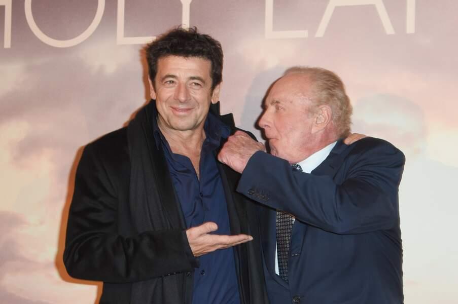 Patrick Bruel et James Caan à l'avant-première parisienne de Holy Lands ce 4 décembre
