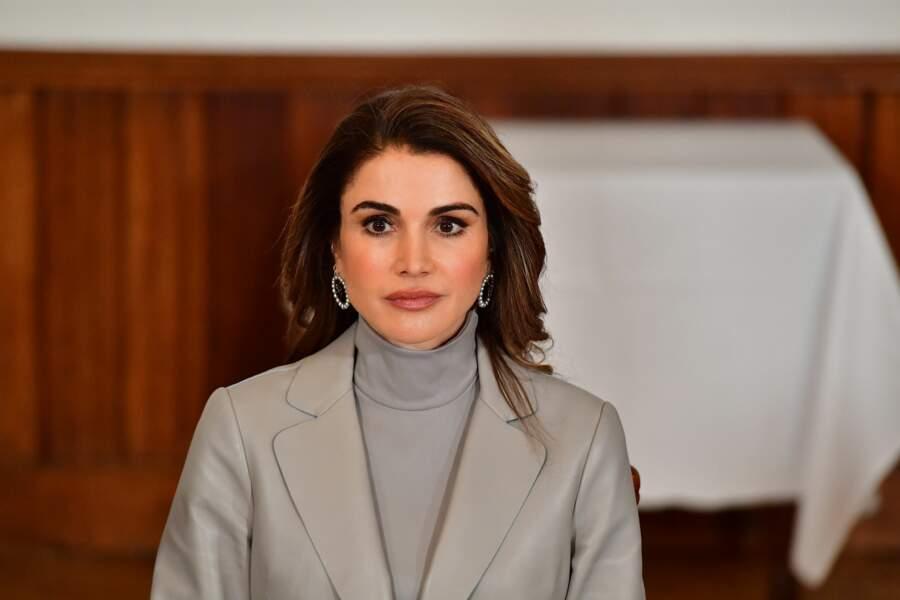 Rania de Jordanie à La Haye le 21 mars 2018