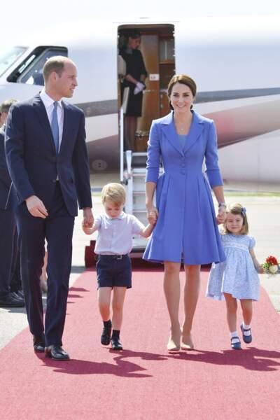 A 5 ans, George a déjà rencontré Barack Obama et le Premier ministre canadien Justin Trudeau.