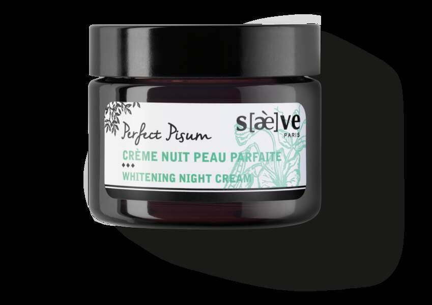 Crème nuit peau parfaite, Saève, 29€