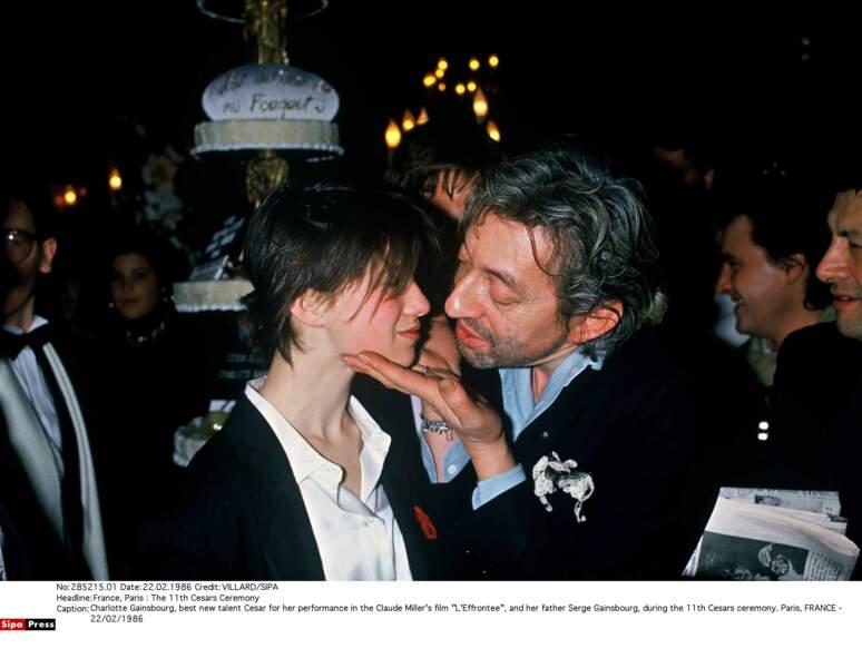 Couple père-fille sulfureux que formaient Serge et Charlotte Gainsbourg