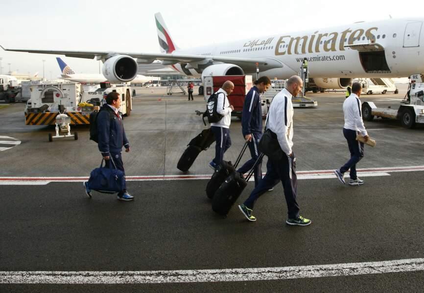Arrivée de Zlatan Ibrahimovic à l'aéroport de doha