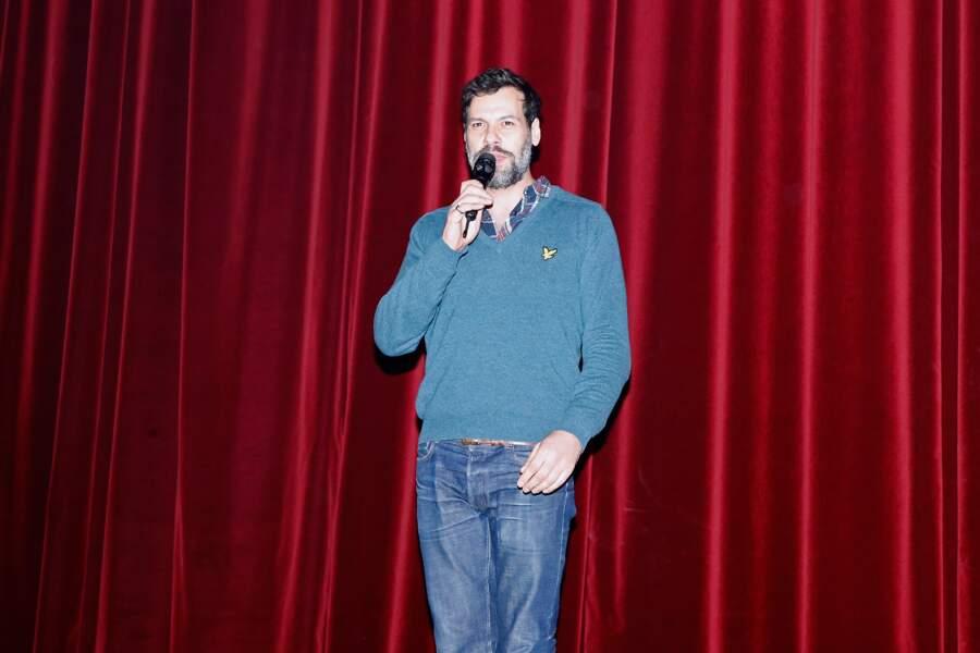 Laurent Laffite président du jury théâtre 2015 de la Fondation Barrière «De l'écrit...à l'écran et à la scène»