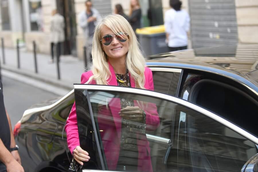 Laeticia Hallyday a déjeuné chez Joia avec Pascal Desprez à Paris