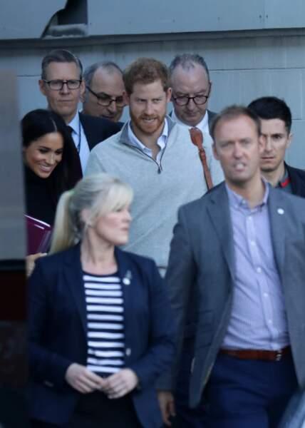 Meghan Markle enceinte, la duchesse pose le pied à Sidney le 15 octobre 2018
