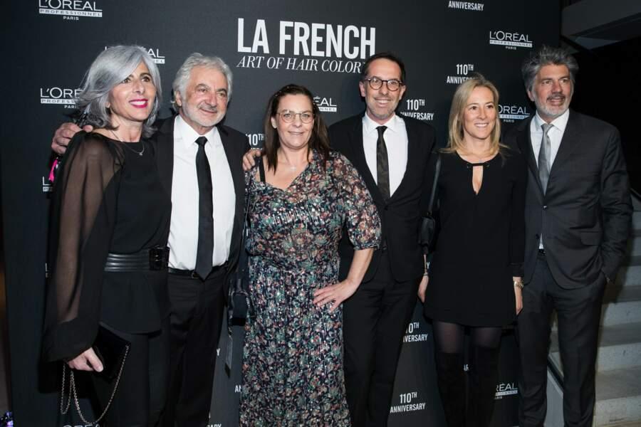 Nathalie Roos, Franck Provost, Olivia Provost, Nicolas Hieronimus, Cléophée Provost et Fabien Provost