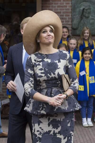 La reine Maxima à Utrecht, mai 2013                                                 Photo by Michel Porro/WireImage