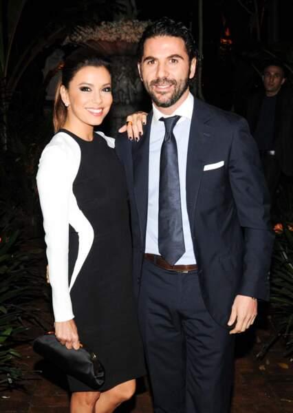 Eva Longoria et José Antonio Baston ne sont pas encore mariés, mais ils se sont fiancés début décembre