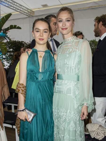 Alexandra de Hanovre et Beatrice Borromeo étaient tout simplement radieuses.