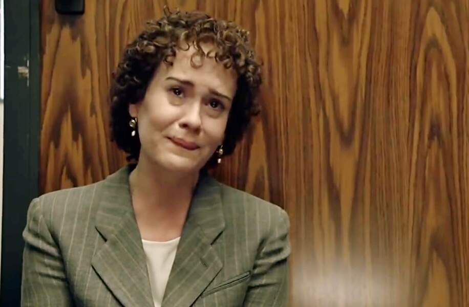 Sarah Paulson incarne le procureur Marcia Clark dans American Crime Story : The People v. O.J. Simpson