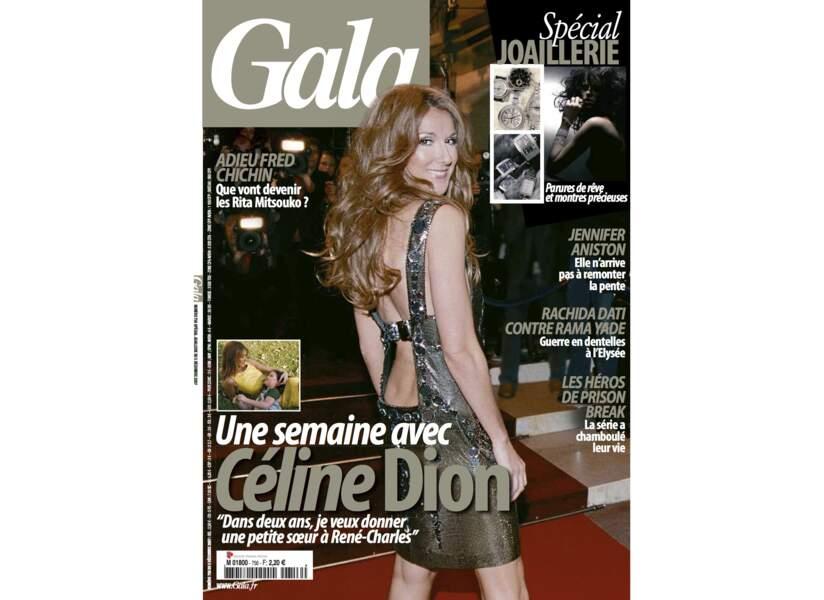 Une semaine avec Céline Dion