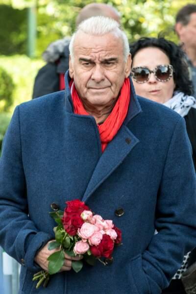 Michel Fugain aux obsèques de Maurane