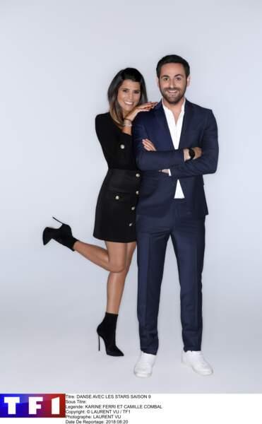 """En 2018, Karine Ferri co-anime la neuvième saison de """"Danse avec les Stars"""" avec Camille Combal"""