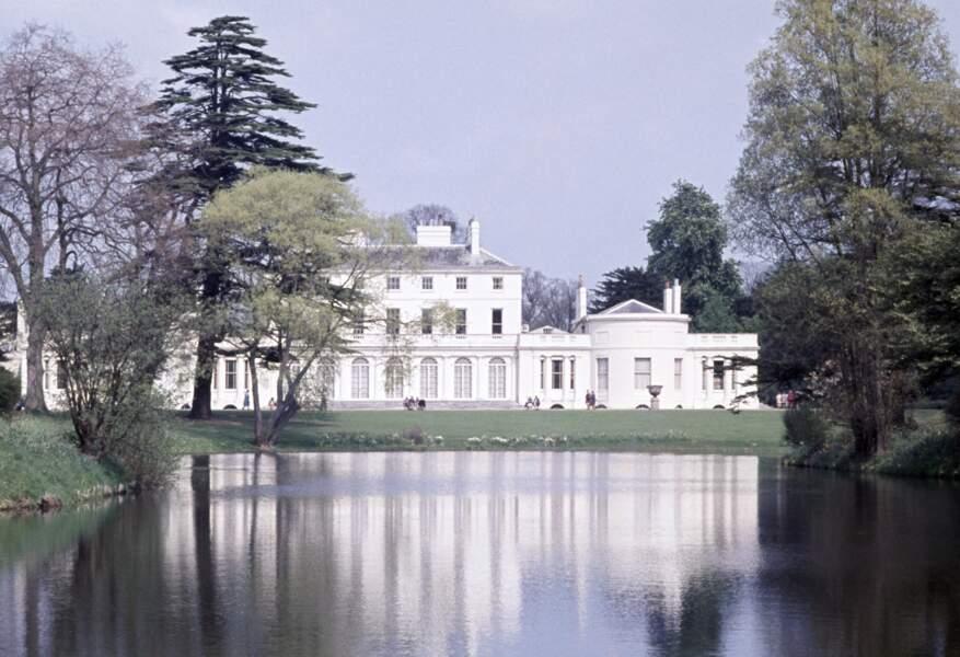 Vue d'ensemble de Frogmore House, la nouvelle demeure du prince Harry et de Meghan Markle