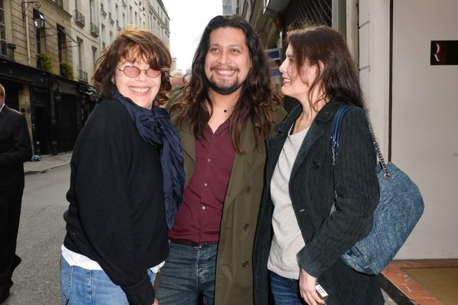 Lulu Gainsbourg, sa mère, Bambou et Jane Birkin, réunis en hommage à Serge Gainsbourg