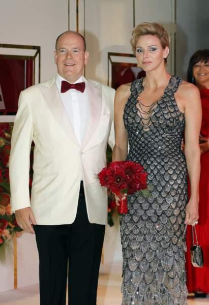 Un duo très glamour pour cet événement !