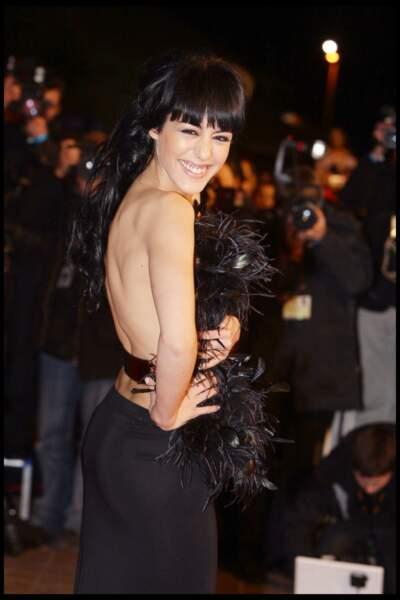 Sofia Essaidi, lors de la cérémonie des NRJ Music Awards à Cannes en 2009