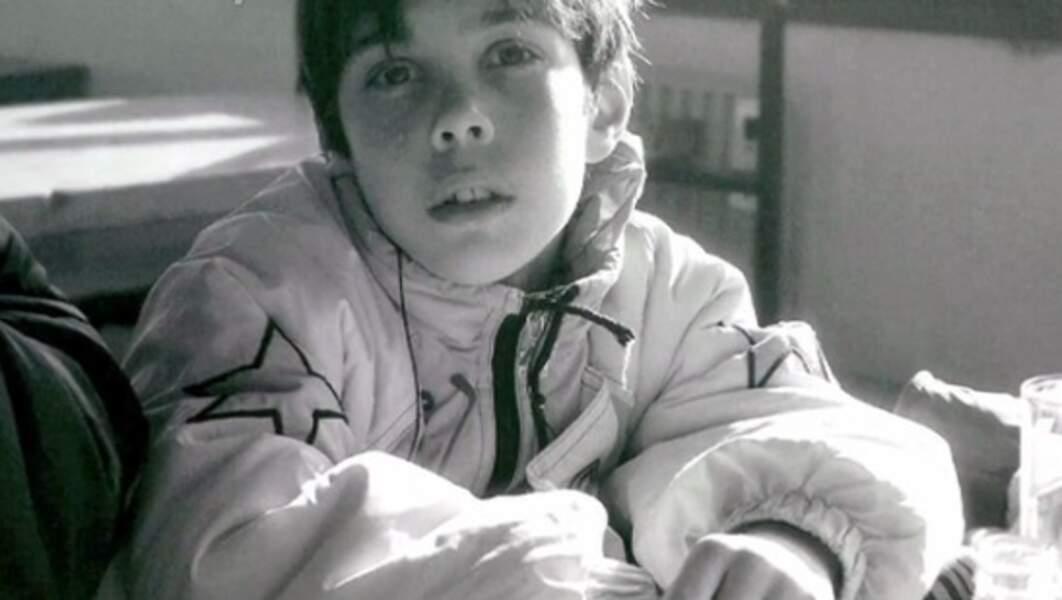 Grégory Lemarchal enfant