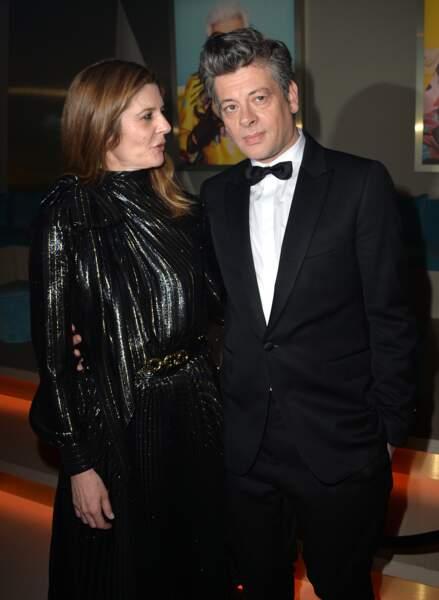 Chiara Mastroianni et Benjamin Biolay, tendres et élégants, à Cannes, le 19 mai 2019.