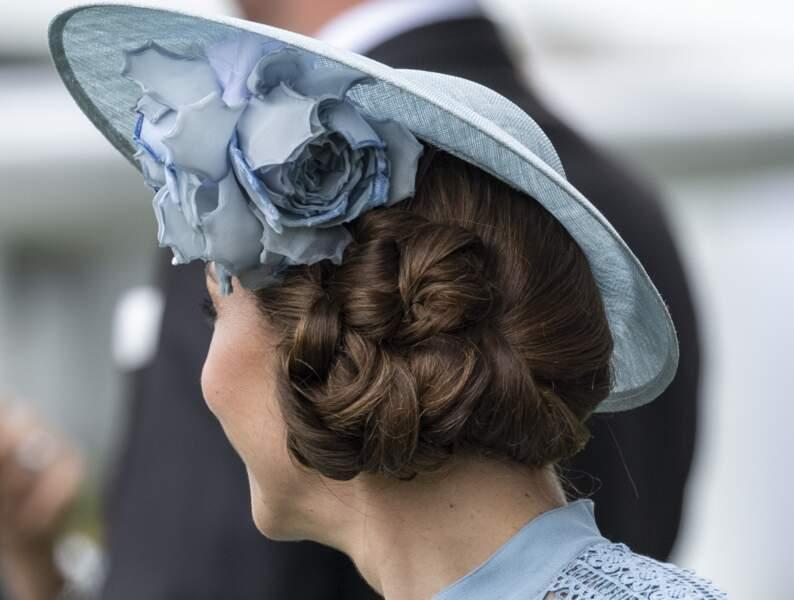 Zoom sur l'élégant chignon de Kate Middleton