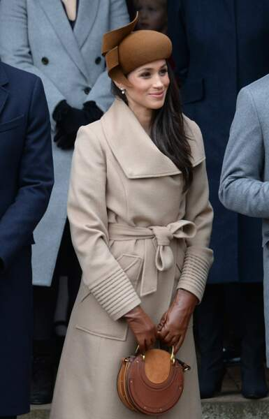 Royals Attends Christmas Day Church Service - Sandrigham