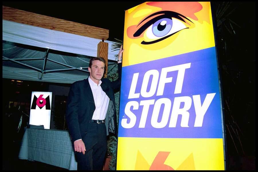 Benjamin Castaldi rejoint M6 en 2001 pour présenter la première émission de télé réalité française, Loft Story