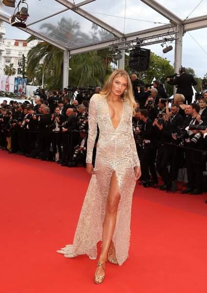 Les robes fendues ont fait sensation pour cette première montée des marches de Cannes 2019