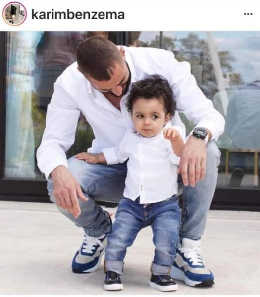 Karim Benzeman et son fils Ibrahim