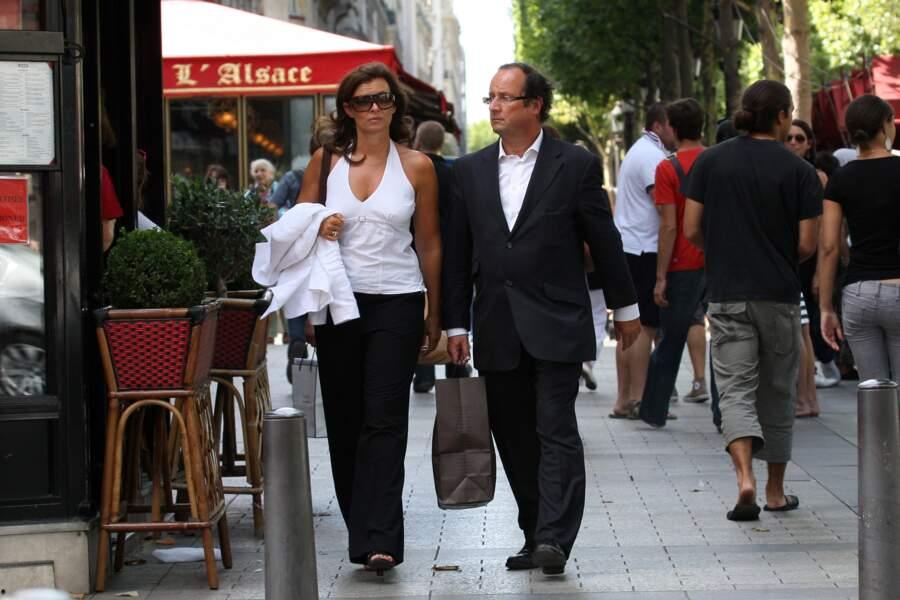 François Hollande et Valérie Trierweiler en 2009