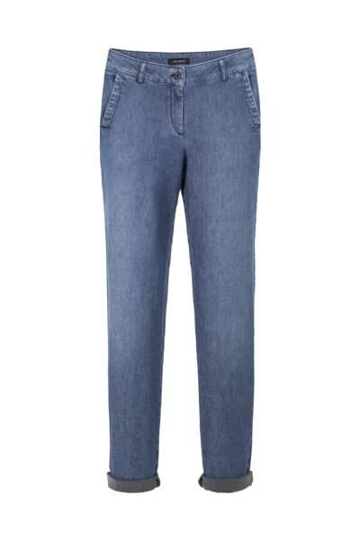 Délavé, jeans brut à revers, 119 € (Cop.Copine).