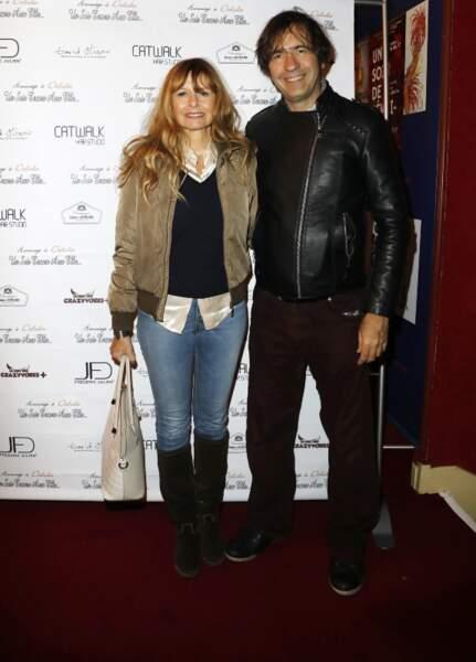 D'habitude discrets, Thierry Samitier et Marina Pastor étaient ensemble le 30 novembre à la Nouvelle Eve à Paris