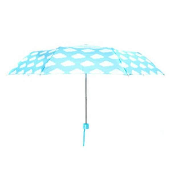 Turquoise, parapluie, 12,99 € (Claire's).
