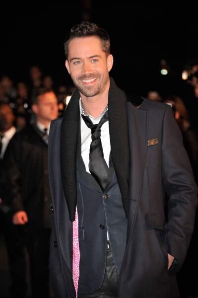 """Emmanuel Moire, grand gagnant de la saison 3 de """"Danse avec les Stars"""", en 2012"""