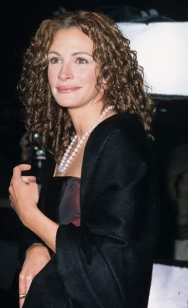 Julia Roberts et ses boucles rousses