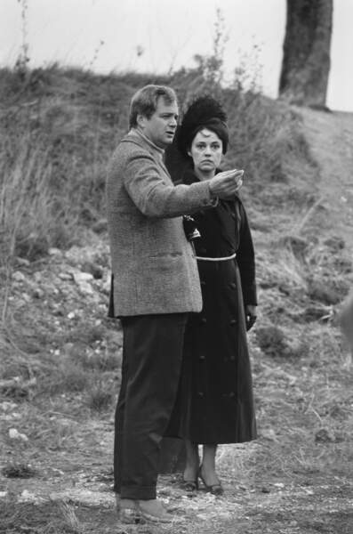 Jeanne Moreau a été dirigée par Jean-Louis Richard, juste après leur séparation. C'était son premier mari