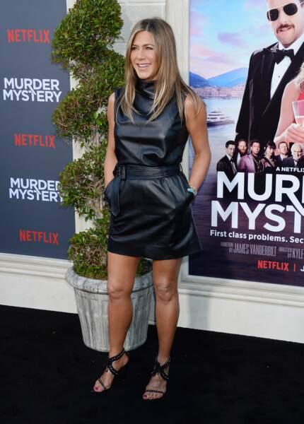 Jennifer Aniston a fait sensation en look très estival pour la première de son nouveau film