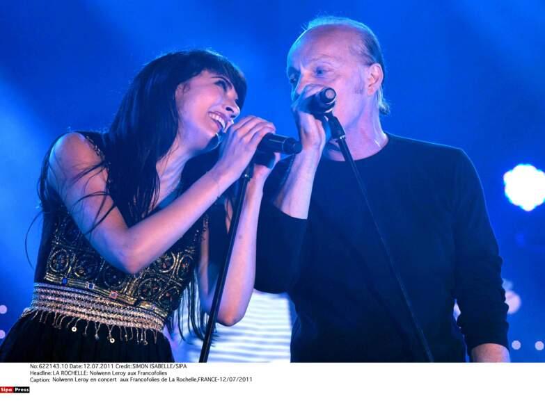 """2011: adoubée par Alan Stivell, elle savoure le triomphe de """"Bretonne"""", disque qui célèbre ses racines bretonnes"""
