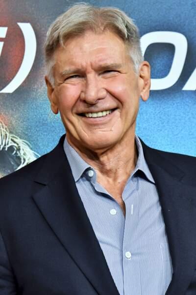 Harrison Ford, 76 ans depuis le mois de juillet 2018