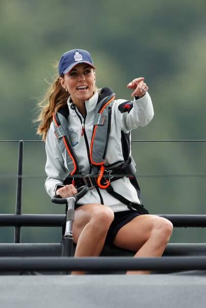 Kate Middleton était au taquet lors de la régate de ce 8 août