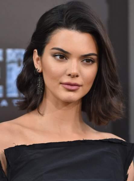 Kendall Jenner et son masque maison anti l'acné