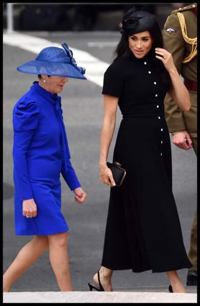 Le prince Harry et Meghan assistent à une commémoration au monument de guerre de l'ANZAC à Sydney, le 20 octobre