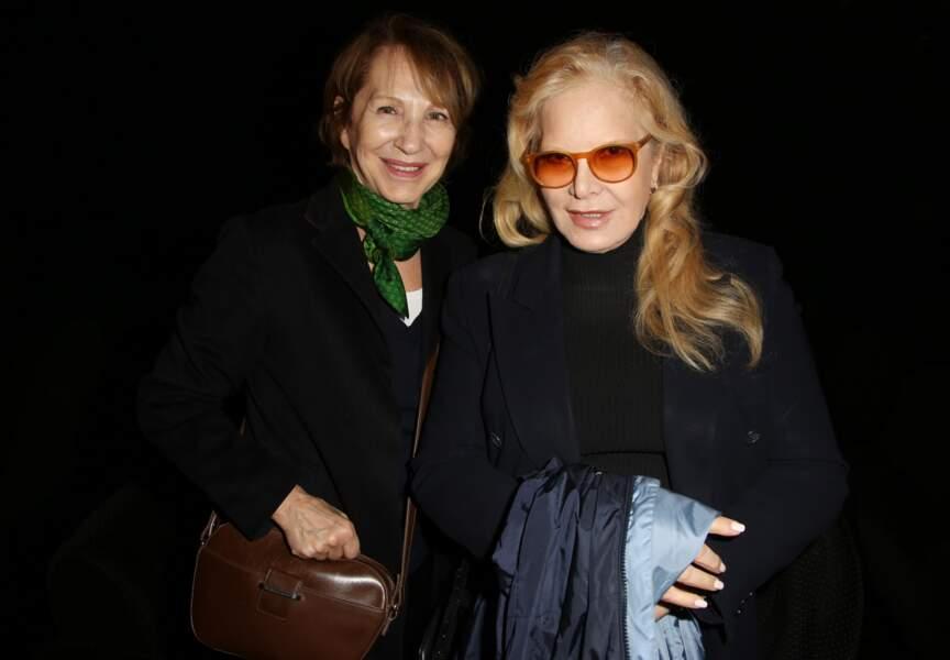 Nathalie Baye et Sylvie Vartan ensemble pour la première fois
