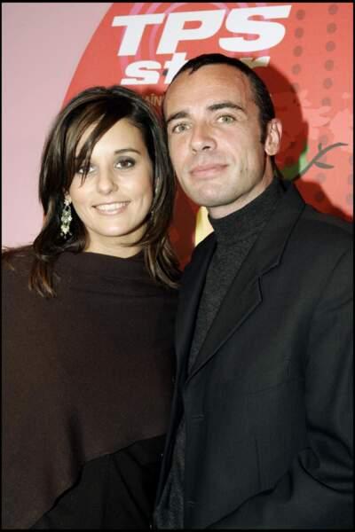 Faustine Bollaert à l'âge de 25 ans à Paris, au tout début de sa carrière,  le 29 novembre 2004 chez TPS Star